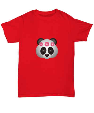 Panda Flower Crown Cute Animal T-Shirt - lkrseller, Shirt / Hoodie ,