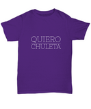 Quiero Chuleta Food Spanish Latin T-Shirt - lkrseller, Shirt / Hoodie ,