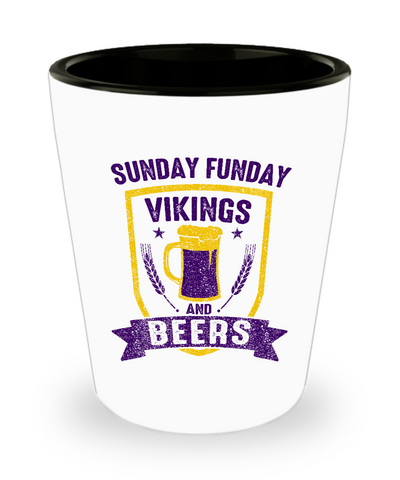 Minnesota Beers and Football Drinking Shot Glass - lkrseller, Shot Glass ,