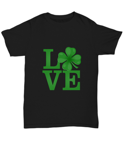 Love St Patricks Day Patty's Day Glover Green T-Shirt - lkrseller, Shirt / Hoodie ,