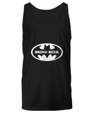 Bring Beer Funny Super Hero Logo Drinking Sweater Tank Top - lkrseller, Shirt / Hoodie ,