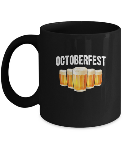 Octoberfest October Beer Pint Drinking Mug - lkrseller, Coffee Mug ,