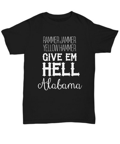 Rammer Jammer Alabama Football Tee Shirt - lkrseller shirts Shirt / Hoodie, t-shirts, hoodies, tank tops, custom