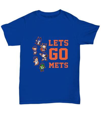 Let's Go Mets Thor Action Figures Playing T-Shirt - lkrseller, Men's T-Shirts ,