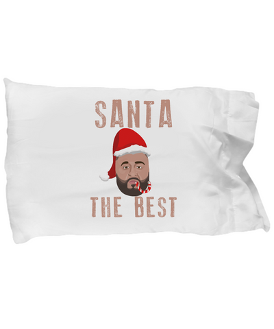 Santa The Best DJ Khaled Santa Clause Hip Hop Bedding Pillow - lkrseller, Pillow Case ,