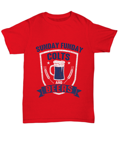 Sunday Funday Colts And Beers Football T-Shirt - lkrseller shirts Shirt / Hoodie, t-shirts, hoodies, tank tops, custom