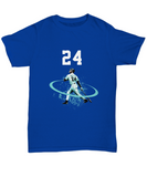 24 ken Griffey Jr Left Handed Swing HR T-Shirt - lkrseller, Shirt / Hoodie ,