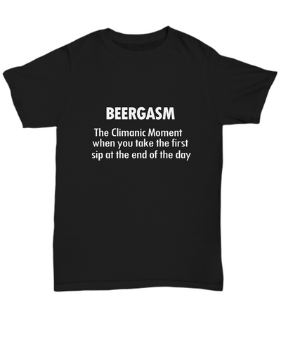 Beergasm Beer Lover Craft Fan T-Shirt - lkrseller, Men's Shirts ,