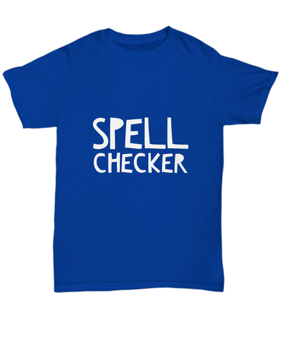 Spell Checker Grammar Smart Spelling Bee T-Shirt - lkrseller, Shirt / Hoodie ,