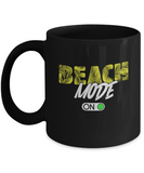 Beach Mode Palm Trees On Coffee Mug - lkrseller, Mugs ,