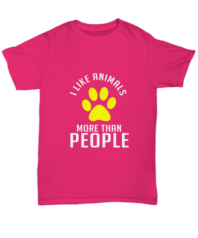 I Like Animals More Than People Paws Dog T-Shirt - lkrseller shirts Shirt / Hoodie, t-shirts, hoodies, tank tops, custom