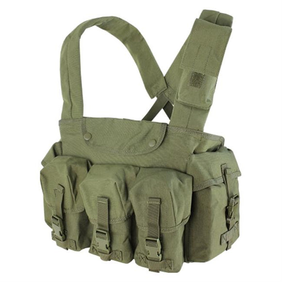Green Pocket Chest Rig