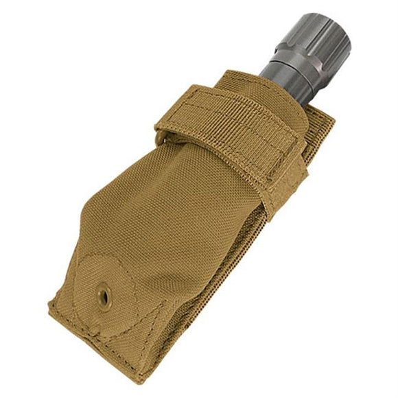 Flashlight Pouch, Coyote Tan
