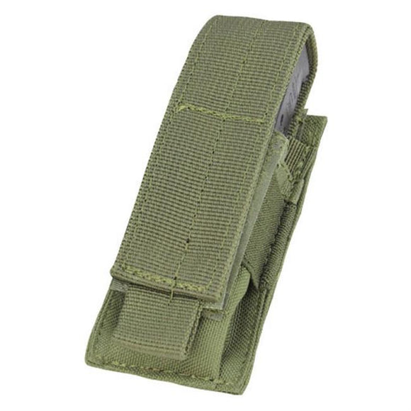 Single Pistol Mag Pouch Green