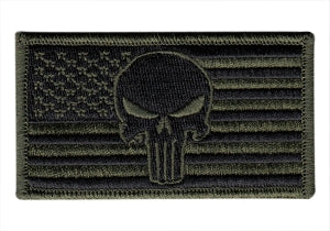 Punisher American Flag Patch