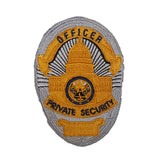 Private Security Officer Shield Patch (B.A.S. EXCLUSIVE)