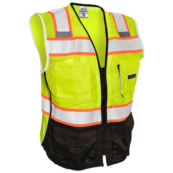 Black Bottom Safety Vest