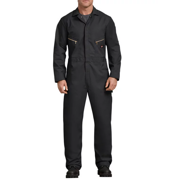 Deluxe Blended Long Sleeve Coveralls