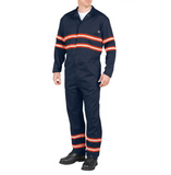 Enhanced Visibility Long Sleeve Coveralls