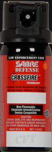 SABRE Defense 0.33% MC 1.5 oz Crossfire Stream (MK-3)
