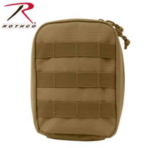 Coyote Tan MOLLE Tactical Trauma & First Aid Kit Pouch