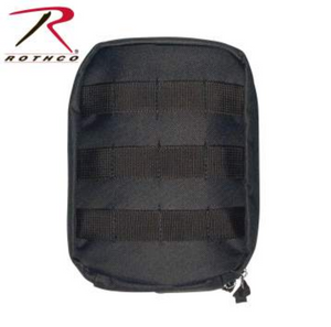 Black MOLLE Tactical Trauma & First Aid Kit Pouch