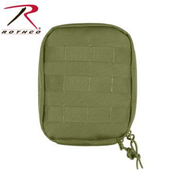 Army Green MOLLE Tactical Trauma & First Aid Kit Pouch