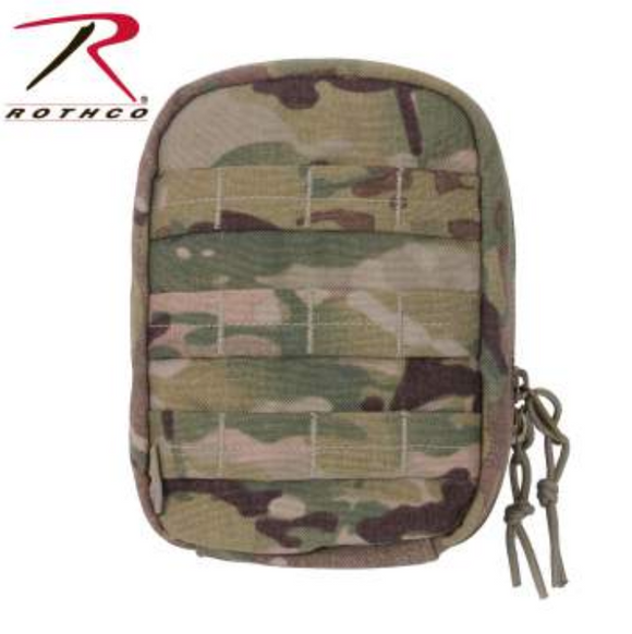Camo MOLLE Tactical Trauma & First Aid Kit Pouch