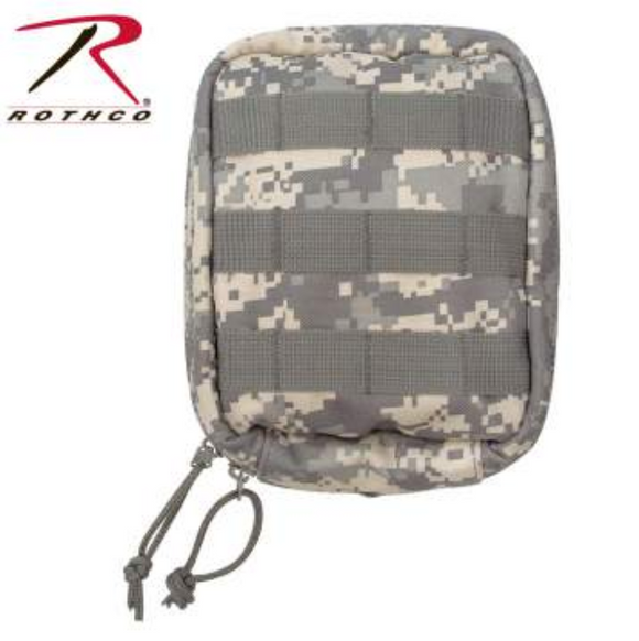 ACU Digital Camo MOLLE Tactical Trauma & First Aid Kit Pouch