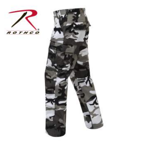 Rothco City Camo Tactical BDU Pants