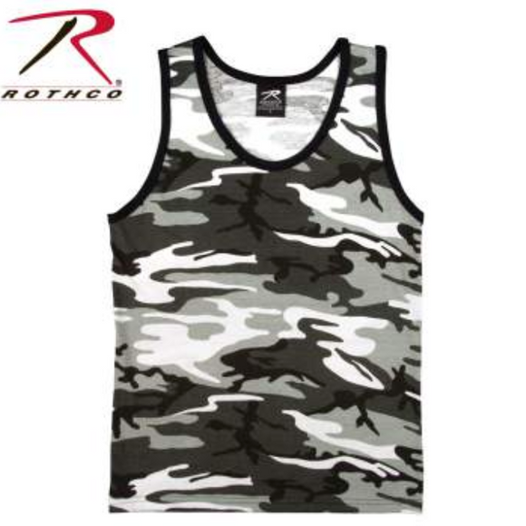 Rothco Camo Tank Top City Camo