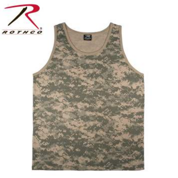 Rothco Camo Tank Top ACU Digital Camo