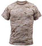 Digital Camofluge Short Sleeve T-Shirts
