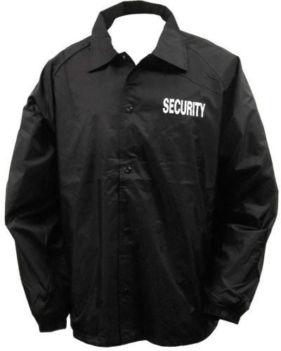 Flannel Lined Windbreaker Security