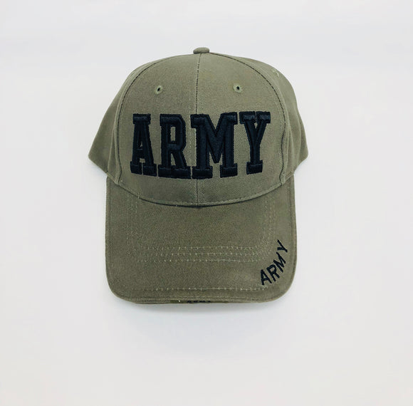 3D ARMY hat