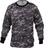 Long Sleeve Digital Camofauge Shirt's