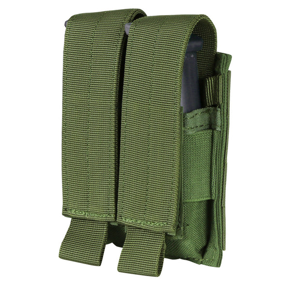 Army Green Condor Double Pistol Mag Pouch