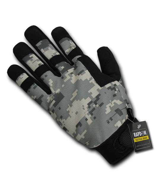 Digital Camo Tactical Gloves