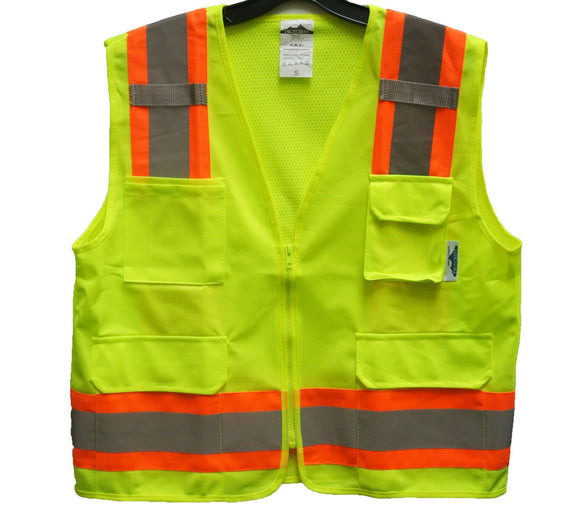 Reflective Safety Vest Double Tone