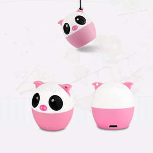 TWS Animal Bluetooth Speakers with Selfie Feature