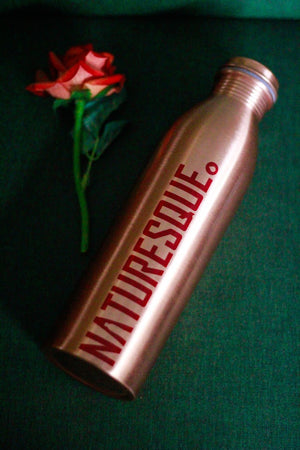 Naturesque Copper Bottle