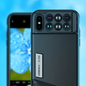 Momax Pro 6 in 1 iPhone lens case