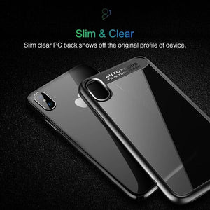 Rock Clear Shockproof case for iPhone X