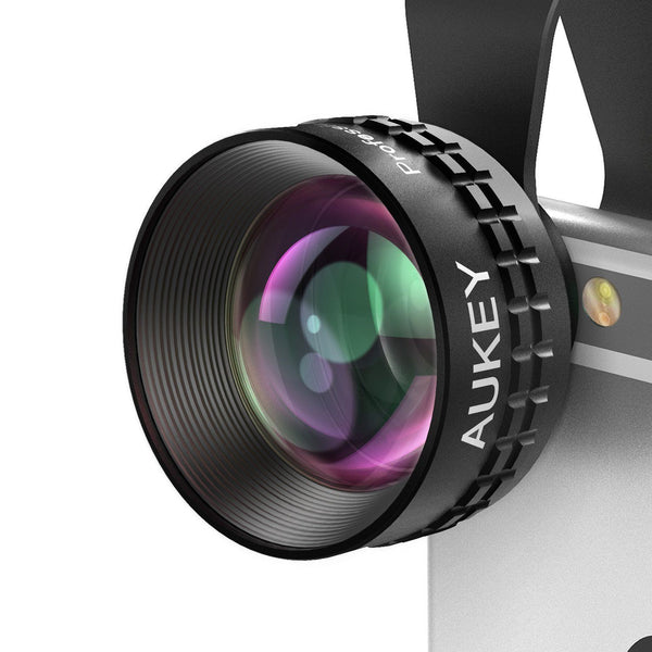 AUKEY 2X HD Telephoto Cell Phone Camera Lens