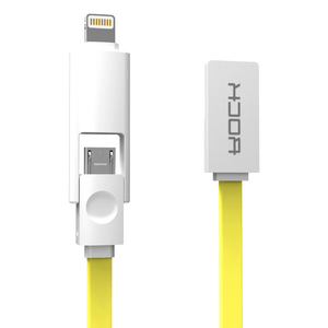 Rock micro & lightning USB