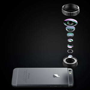 AUKEY Super Wide Angle Cell Phone Camera Lens