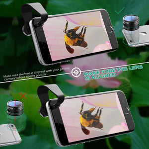 AUKEY 2 in 1 Mini High Quality Smartphone Camera Lens