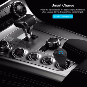 Rock Bluetooth headset and car charger for quick charging on the go