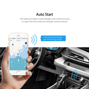 Rock App controlled Car Charger