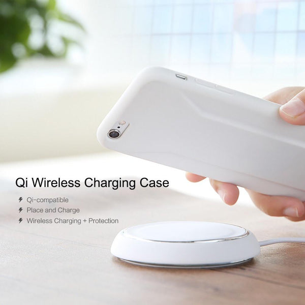 Rock QI wireless charger receiver case for iPhone 6 6s
